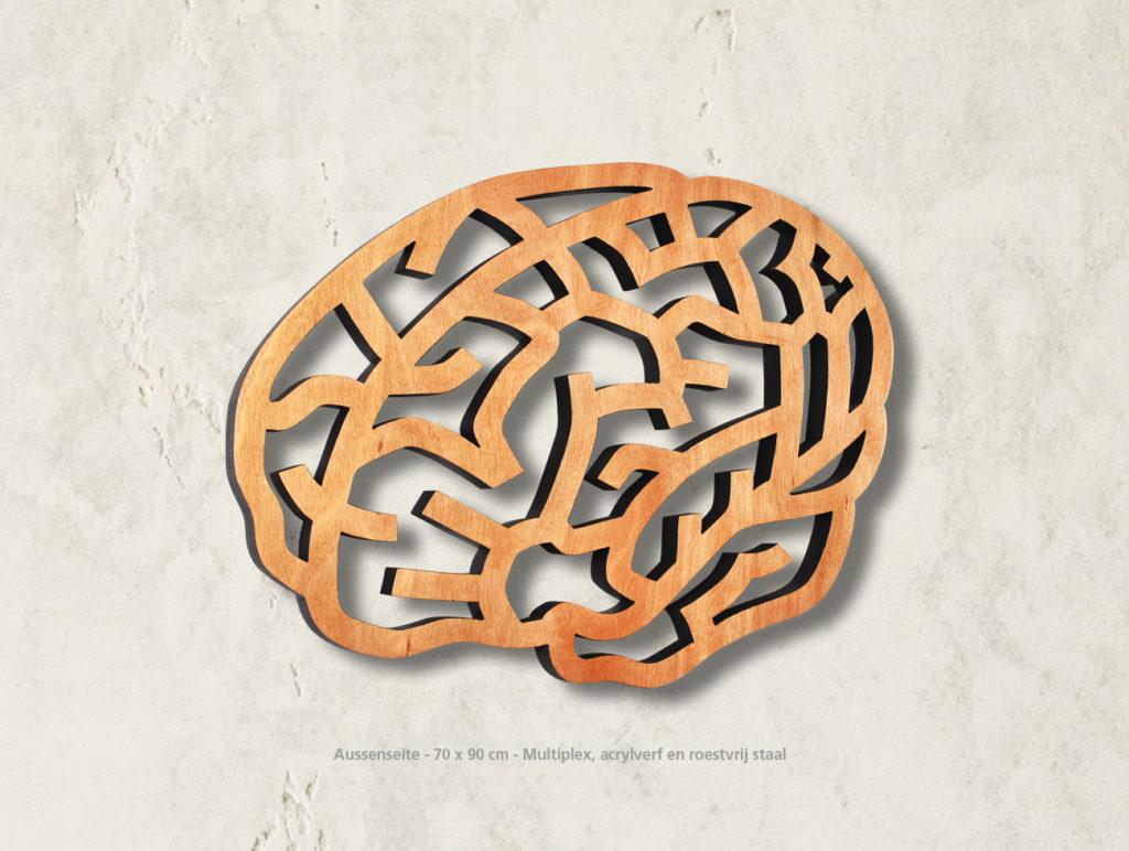 Gehirn-Aussenseite