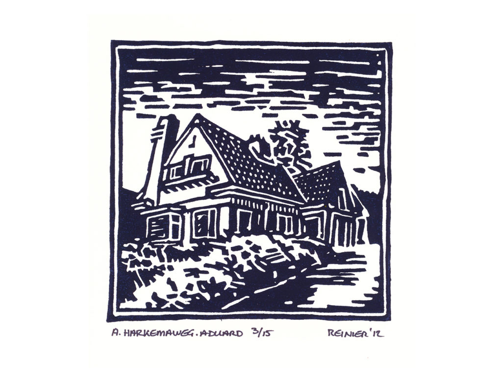 Houtsnede-A-Harkemaweg