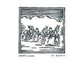 Houtsnede-Drafbaan-Aduard