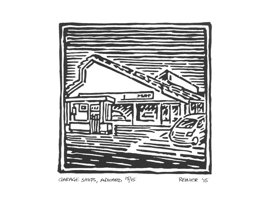 Houtsnede-Garage-Smits-Aduard