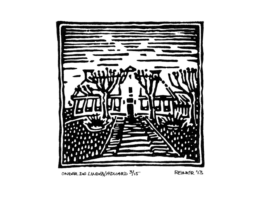 Houtsnede-Onder-de-Linden-Aduard