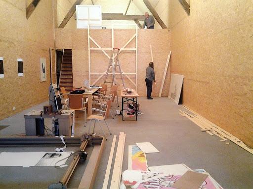 Noordgangers onder dak bij Bart Art Box in Thesinge, 15 sept. t/m 27 oktober